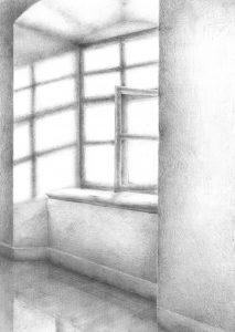 Fenster bleistiftzeichnung  Sabine Roidl - Bilder und Texte | Neues